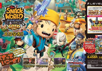 Import: The Snack World Trejarers Gold (Version Switch Japonesa)