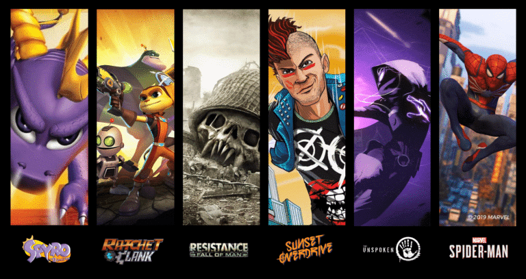 SONY compra Insomniac Games creadores de Spyro o Ratchet and Clank GC 2019
